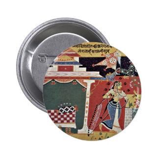 Campeón de la escena del manuscrito del Chaurapañc Pin