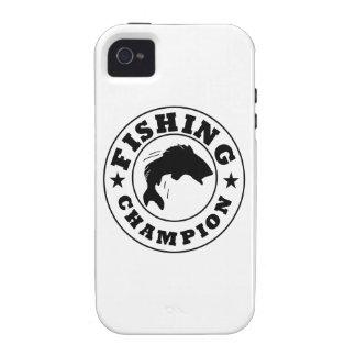 Campeón de la pesca Case-Mate iPhone 4 carcasa