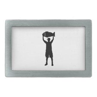 Campeón de la pesca hebilla cinturon rectangular