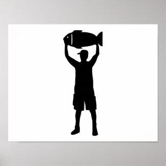 Campeón de la pesca poster