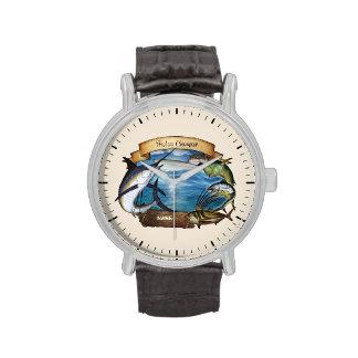 Campeón de la pesca personalizable reloj