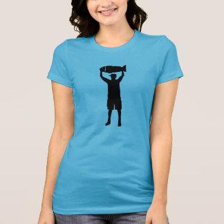 Campeón de la pesca camiseta