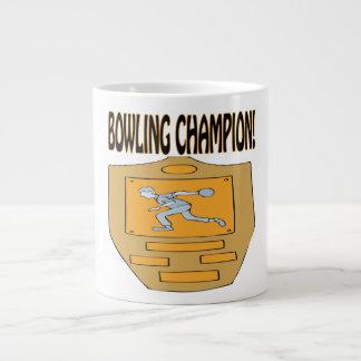 Campeón de los bolos taza grande