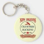 Campeón de los cangrejos de New Orleans Llavero