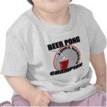 Campeón de Pong de la cerveza Camiseta