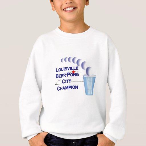 Campeón de Pong de la cerveza de Louisville Playeras