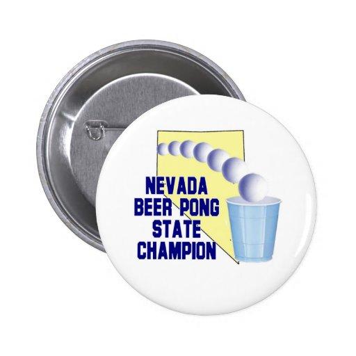 Campeón de Pong de la cerveza de Nevada Pins