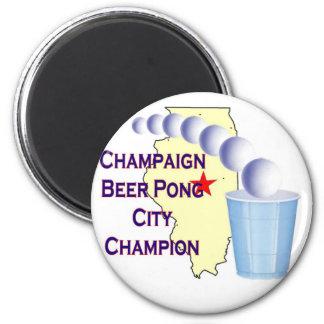 Campeón de Pong de la cerveza del chamán Iman Para Frigorífico