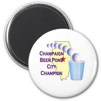Campeón de Pong de la cerveza del chamán Imanes