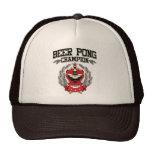 Campeón de Pong de la cerveza Gorros