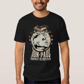 Campeón de Ron Paul de la constitución Camisas