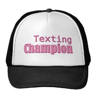 Campeón de Texting Gorro