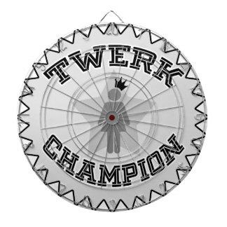 Campeón de Twerk Tablero Dardos
