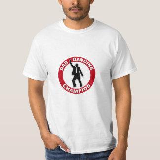 Campeón del baile del papá - camisa divertida para