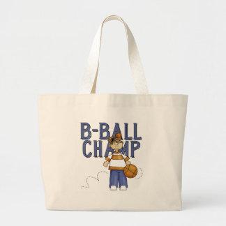 Campeón del baloncesto bolsa