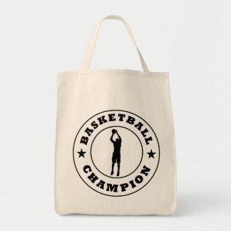 Campeón del baloncesto bolsas de mano