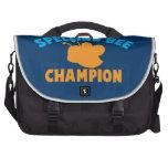 Campeón del concurso de ortografía bolsas de portátil
