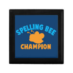 Campeón del concurso de ortografía cajas de regalo