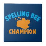 Campeón del concurso de ortografía teja