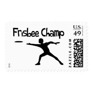 Campeón del disco volador sellos