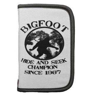 Campeón del escondite de Bigfoot desde 1967 Planificadores