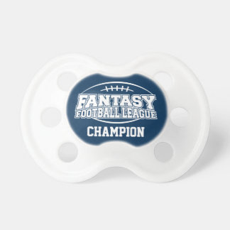 Campeón del fútbol de la fantasía - marina de chupete