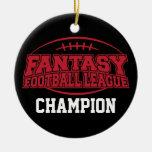 Campeón del fútbol de la fantasía - regalo ornato