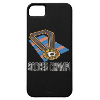 Campeón del fútbol funda para iPhone SE/5/5s