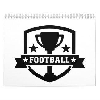 Campeón del fútbol calendarios