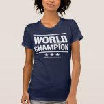 Campeón del mundo - blanco camiseta