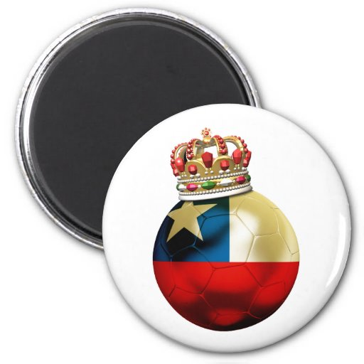 Campeón del mundo de Chile Imanes De Nevera