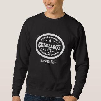 Campeón del mundo de la genealogía - personalizado suéter