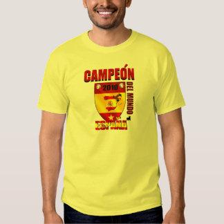 Campeón Del Mundo España T-shirt