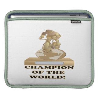 Campeón del mundo funda para iPads