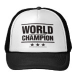 Campeón del mundo gorra