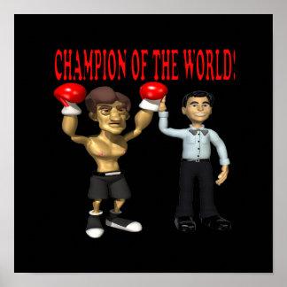 Campeón del mundo posters