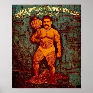 Campeón del mundo póster