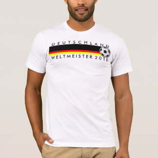 campeón del mundo Shirt fútbol Alemania 2010 Playera