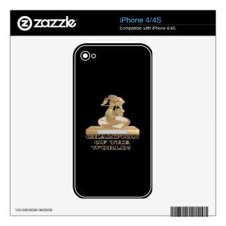Campeón del mundo skins para eliPhone 4