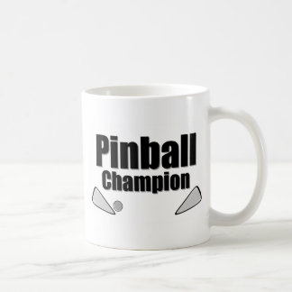 Campeón del pinball taza
