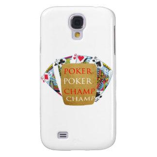 Campeón del póker ART101 - diseño de Zazzle Funda Para Galaxy S4