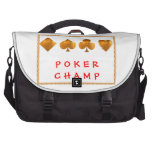 Campeón del PÓKER: Regalos del sorteo Bolsas Para Ordenador