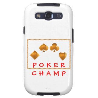 Campeón del PÓKER: Regalos del sorteo Samsung Galaxy S3 Fundas