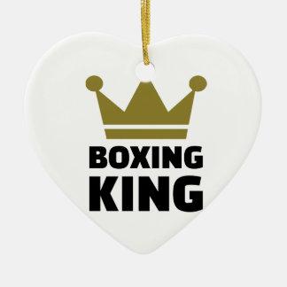 Campeón del rey del boxeo adorno