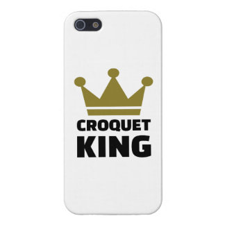 Campeón del rey del croquet iPhone 5 carcasas