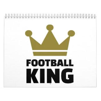 Campeón del rey del fútbol calendario