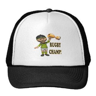 Campeón del rugbi gorra