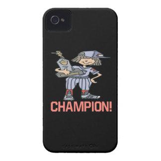Campeón del softball carcasa para iPhone 4 de Case-Mate