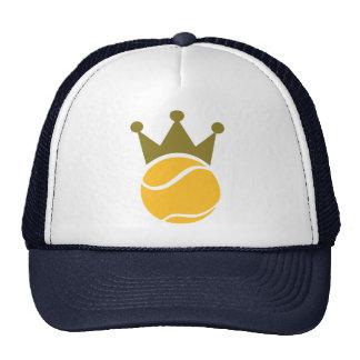 Campeón del tenis gorra