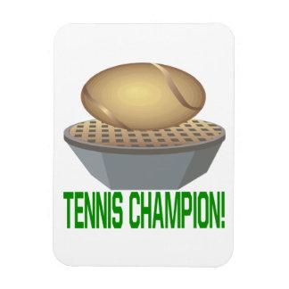Campeón del tenis iman
